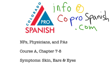 NPs, Physicians and PAs: Course A, Ch. 7-8