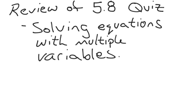 5.8 Quiz Review