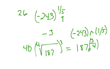 More Help With Radical Notation