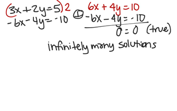 Solve A System Of Linear Equations By Elimination