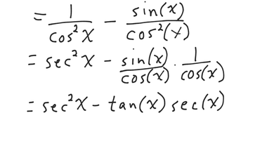 trig identities example 8