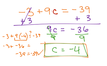 Solving 2 Step Equations With Integers - Lessons - Tes Teach