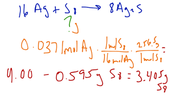 11.3  Limiting Reactants