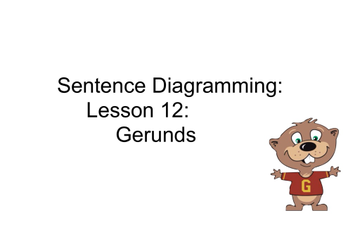 Grammar lessons tes teach sentence diagramming lesson 12 gerunds ccuart Gallery