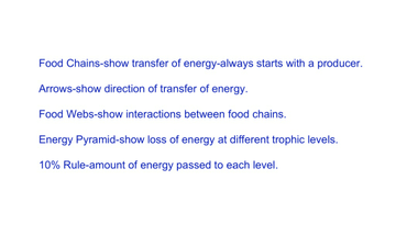 Copy Of Ecology Flow Of Energy Lessons Tes Teach